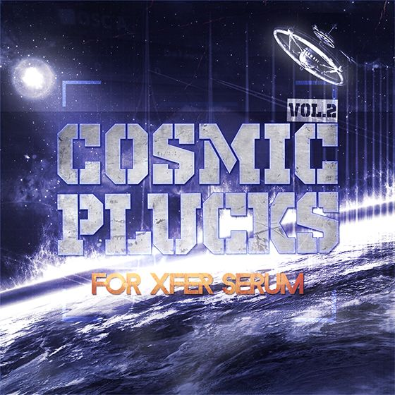True Trance Recordings Cosmic Plucks Vol 2 For XFER RECORDS SERUM